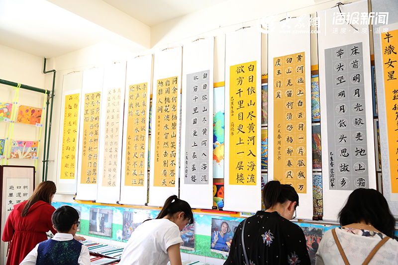 城阳区v年级年级阅读三字一话成果展示夯实教小学小学三举行图片