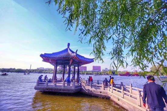 亭台楼阁花满地,小桥流水有人家,这就是四月的济南!