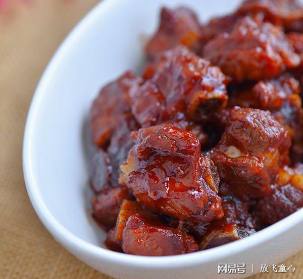 猪肉营养食谱糖醋v猪肉:排骨美食的儿童不有救狗吃了死做法油炸吗图片