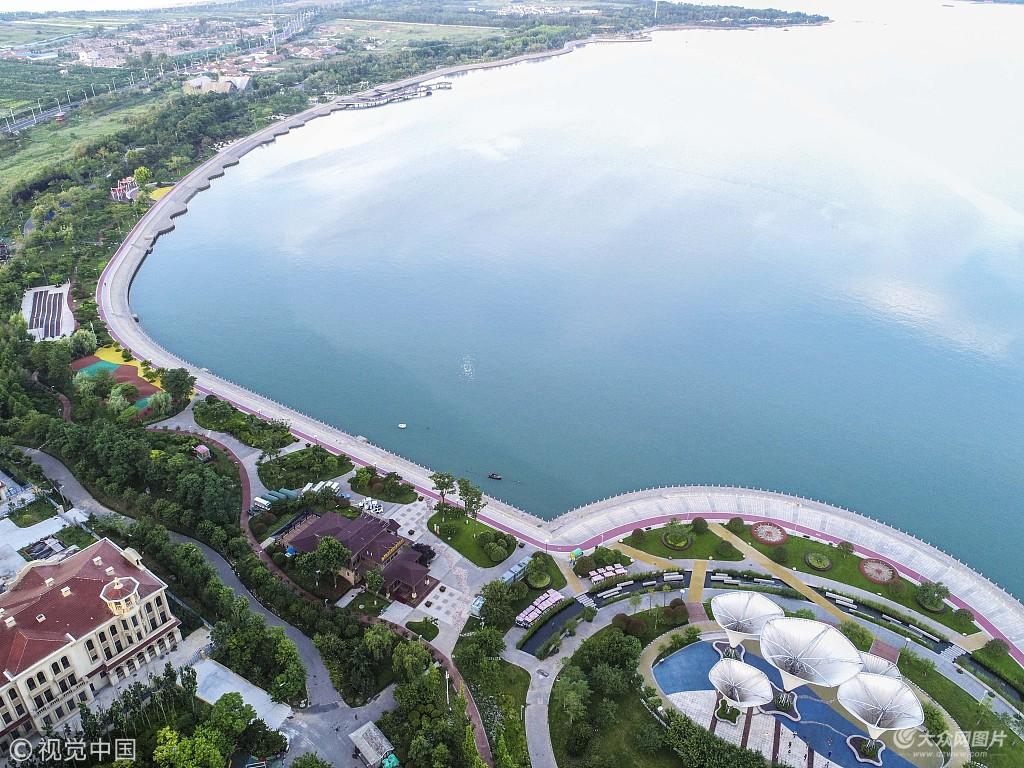 青岛:航拍西海岸新区 魅力四射充满活力
