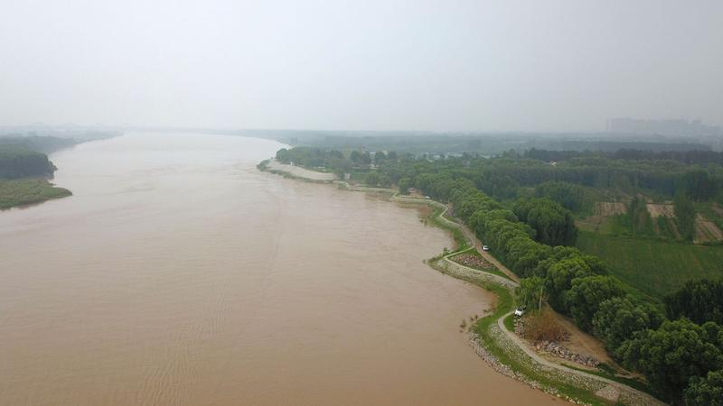 黄河四年来最大洪峰过境济南