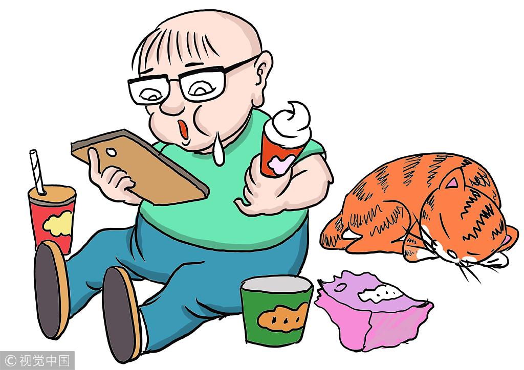 该研究还指出,习惯早吃晚饭的人,他的其他生活方式也有助于预防图片