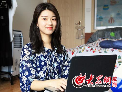 经过一年的熟悉,可爱的台湾女生身上也开始有了北方女孩的直率爽朗,对