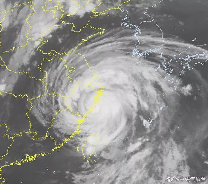 首个登陆我国台风