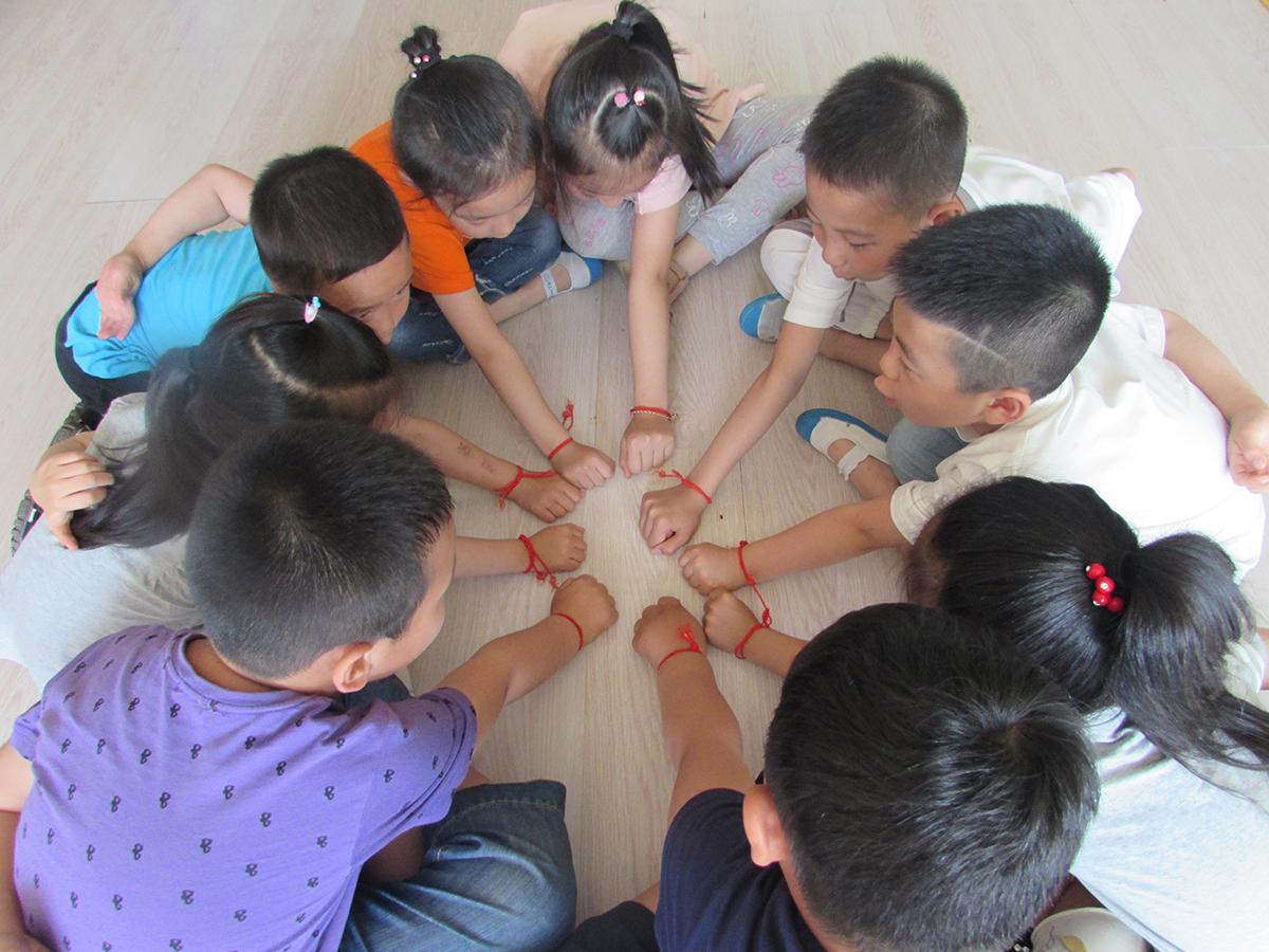 龙口市市直第二幼儿园:欢乐同心 玩转端午