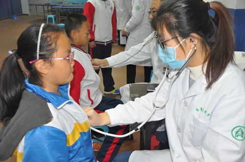 淄博市桓台县实验小学为学生健康保驾护航