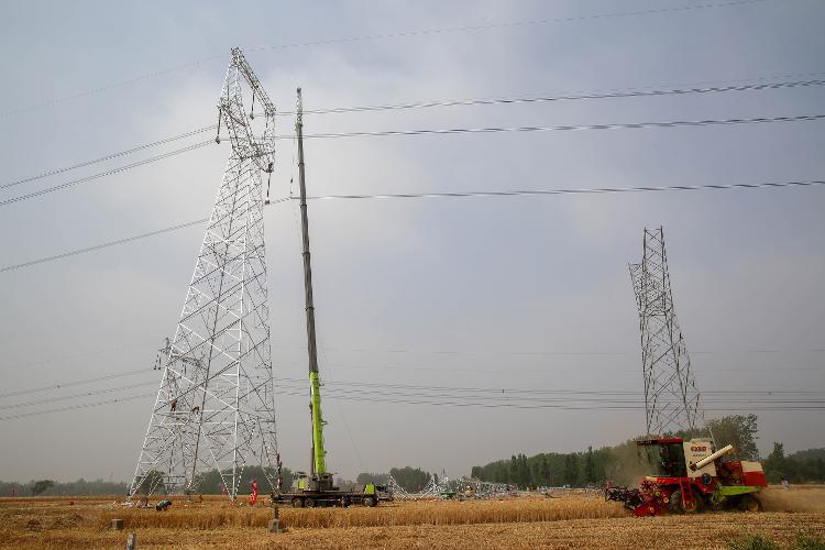 电力铁塔组装图纸解说