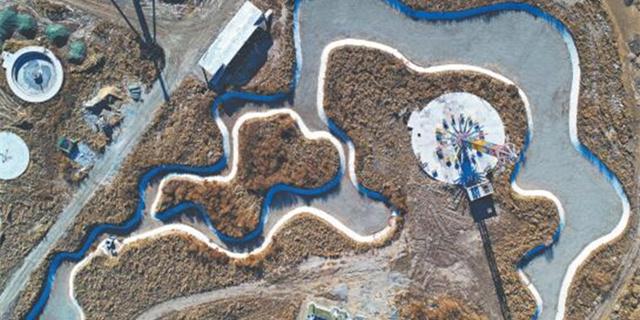 红莲湖基础设施配套项目今年完工