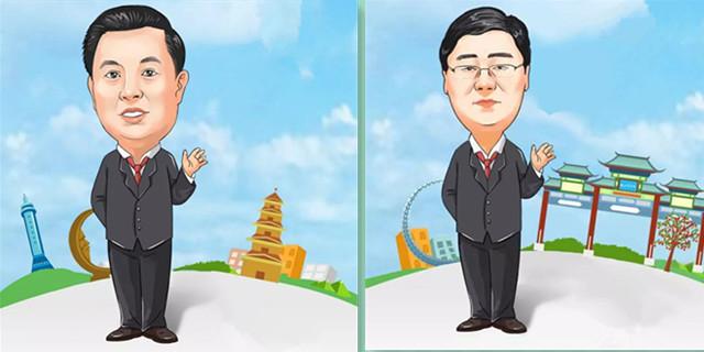 烟台14县市区长漫画形象出炉!快来为您家乡点赞!