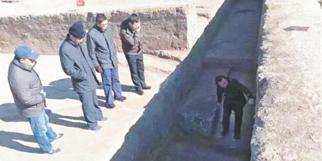 临淄新发现一座战国时期城门