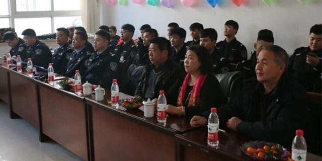庆新春警民联谊会举办
