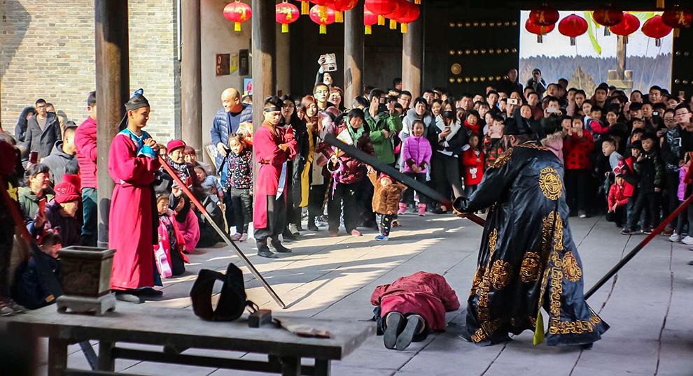 春节假日出游热情高涨 济宁旅游市场迎高峰