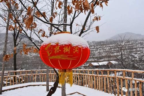 椿树沟民俗过大年,旅游文化盛宴