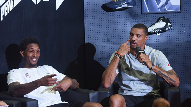 NBA球星希尔、路·威廉姆斯空降杭州