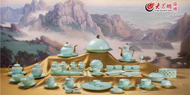 华光国瓷亮相外交部蓝厅与世界对话