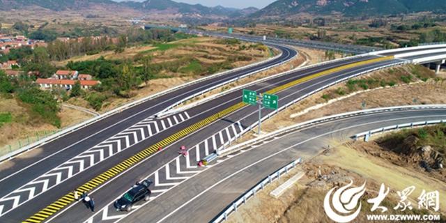 潍日高速收费站全部建成 计划十月底通车