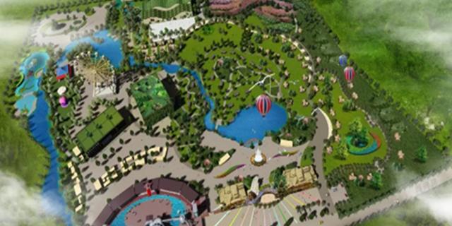 山海天推进山海传奇田园综合体建设 一期项目计划明年五一开园