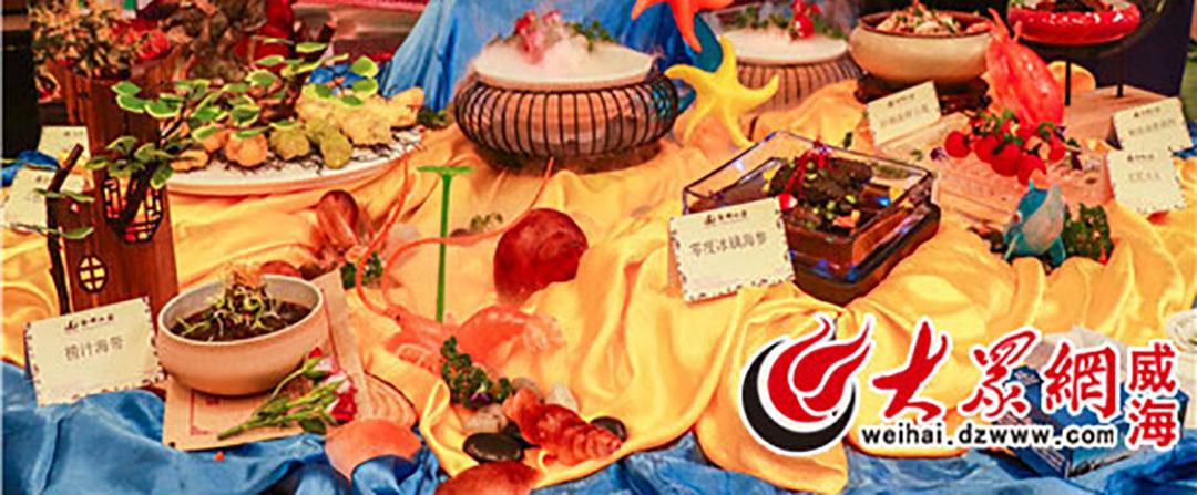 一起欣赏名厨现场演示农家乐宴席的特色鲁菜吧!