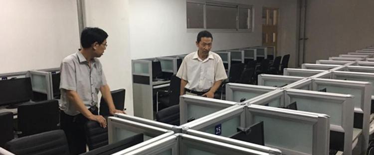 2019年国家统一法律职业资格考试东营考区机位测试工作顺利完成