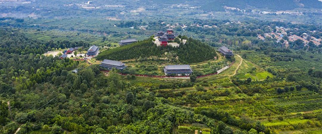 山东潍坊:秋日森林公园迷人如画