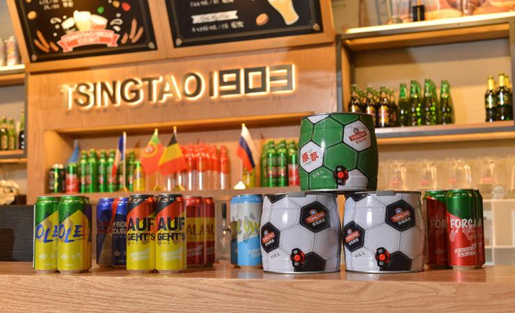 青島啤酒繽紛加油罐熱銷 讓激情燃起來