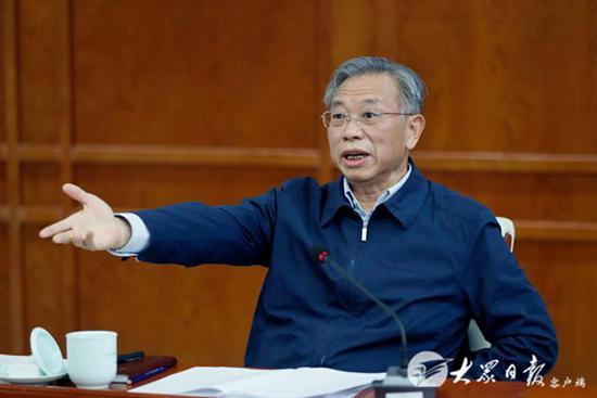 刘家义主持召开经济形势座谈会,研究下一步经济工作