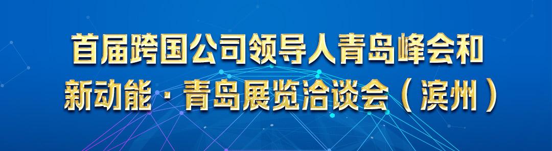 专题:首届跨国公司领导人青岛峰会和新动能·青岛展览洽谈会(滨州)