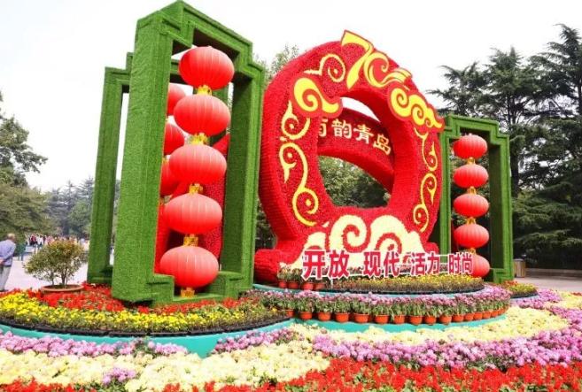 青岛中山公园菊展本周六开展 展期20天左右