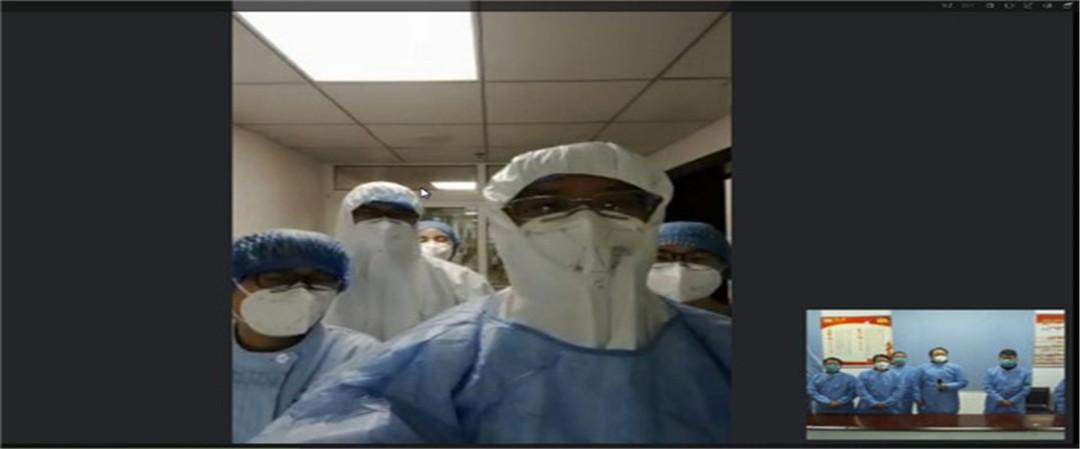 这就是山东|我们在一起!济宁市委书记傅明先看望一线医护人员和患者