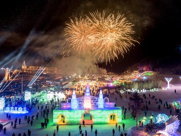 中国 阿尔山国际养生冰雪节