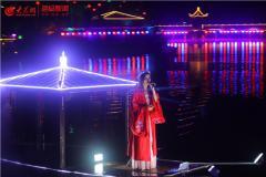 """淄博在崛起  赏灯品宴 玉黛湖""""醉美""""夜经济来袭"""