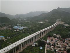 """""""最美高速""""济泰线济南段左线贯通计划年内通车,济南至泰安仅需半小时"""