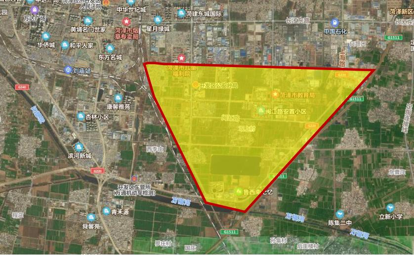 规划用地1764公顷!菏泽东南湖区这样规划定位!