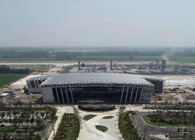 历时近3个月 菏泽牡丹飞机场配套供电工程建设顺利完工