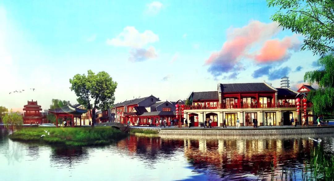 占地约16亩!菏泽老城区将建一水街!