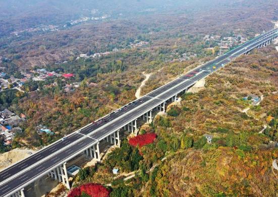 济泰高速即将通车