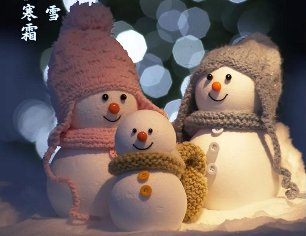 今日小雪!愿与你共白头......