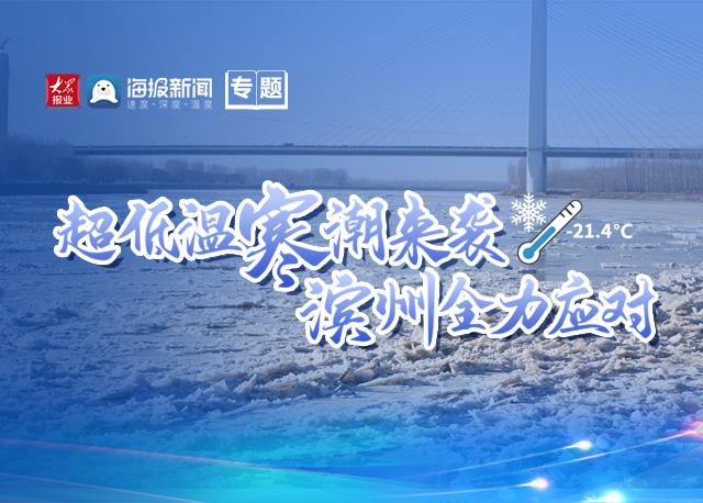 【专题】超低温寒潮来袭 滨州全力应对