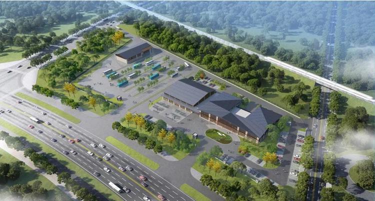 菏泽长城路将建设公共交通综合枢纽站!