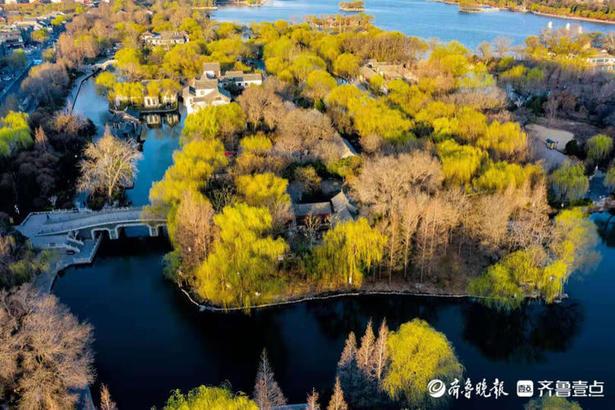 明湖春来早 俯瞰更迷人