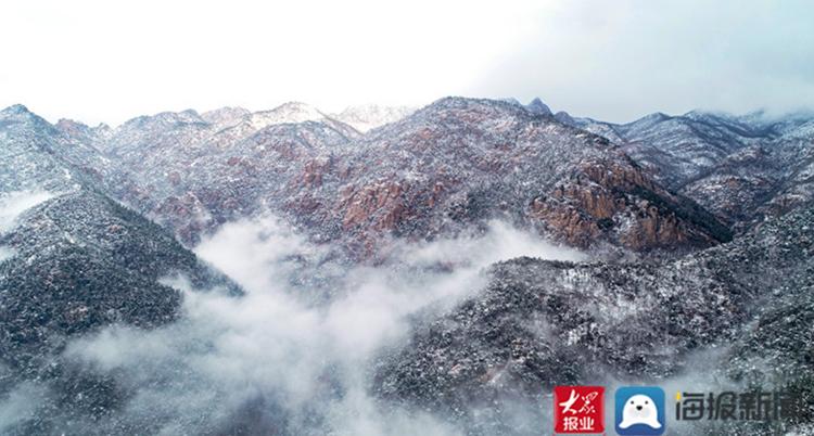 雪后泰山 宛如仙境