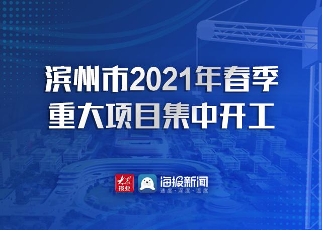 【专题】滨州市2021年春季重大项目集中开工