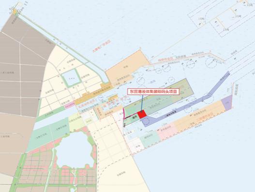 东营港10万吨级液体集装箱码头项目推进取得重大进展