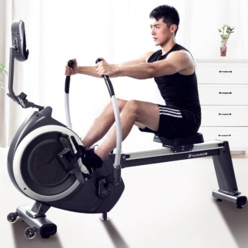 高效锻炼保护膝盖,亿健划船器打造居家健身新体验!