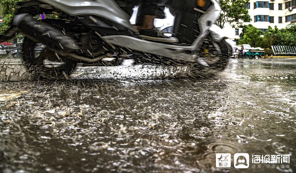 临沂今年全市累计降水量85.5毫米,较去年同期偏少