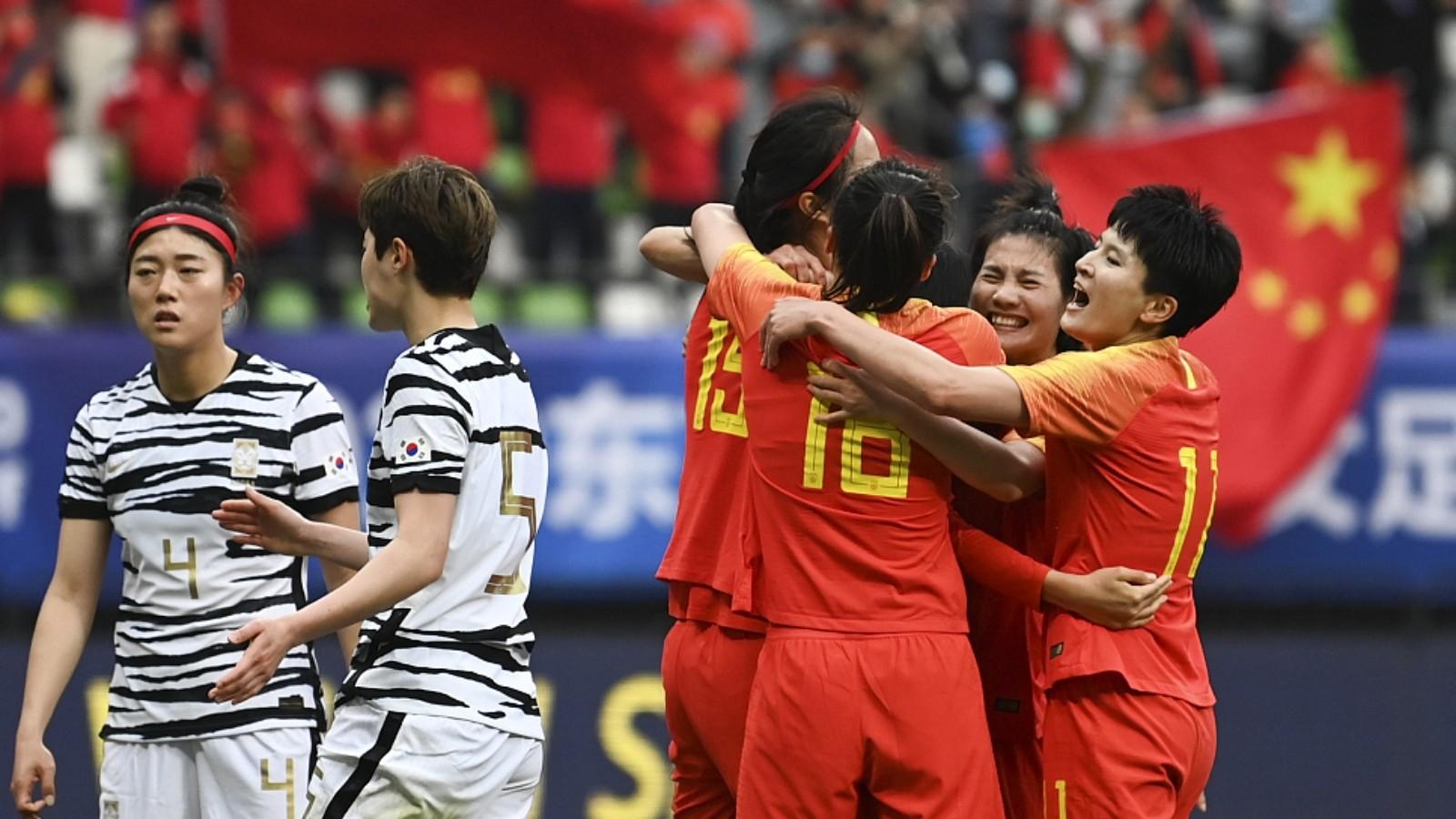 中国女足获得东京奥运会入场券