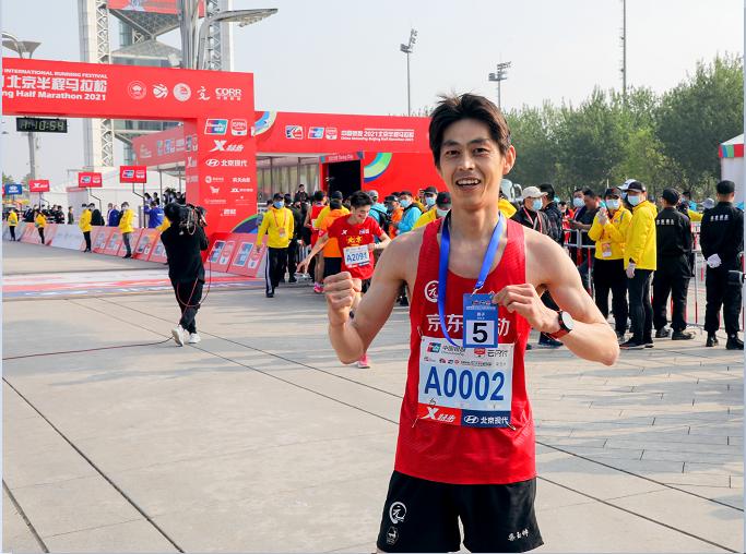 2021北京半马开跑,京东物流跑出新配速