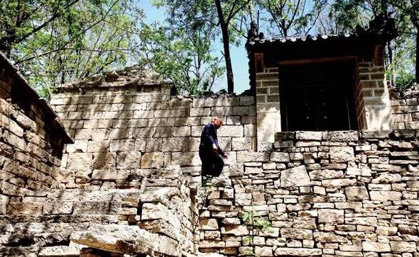 济南有个明代古村落,全村只有1户人家
