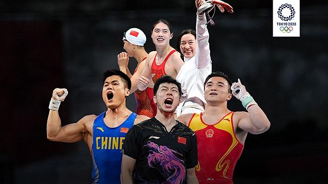 时录丨见证中国健儿夺金时刻