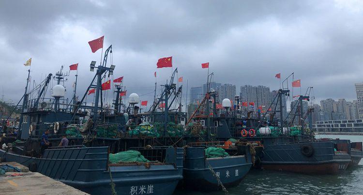 开海在即  青岛积米崖码头:整装待发 迎接鱼虾满仓